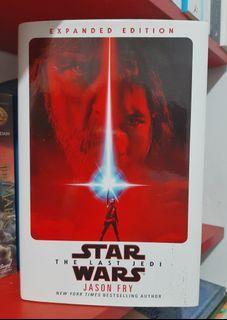 Preloved novel import: Star Wars The Last Jedi  novilization HC  sci-fi  buku import