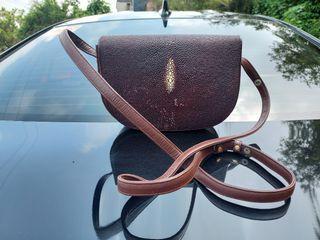 Real Stingray Bag