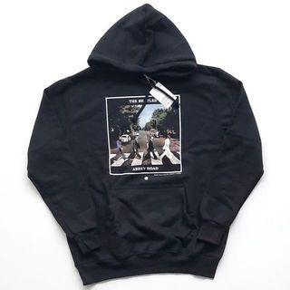 The beatles black hoodie hitam hnm h&m