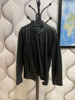 Tonino Lamborghini Leather Jacket (Jaket Kulit Lamborghini)