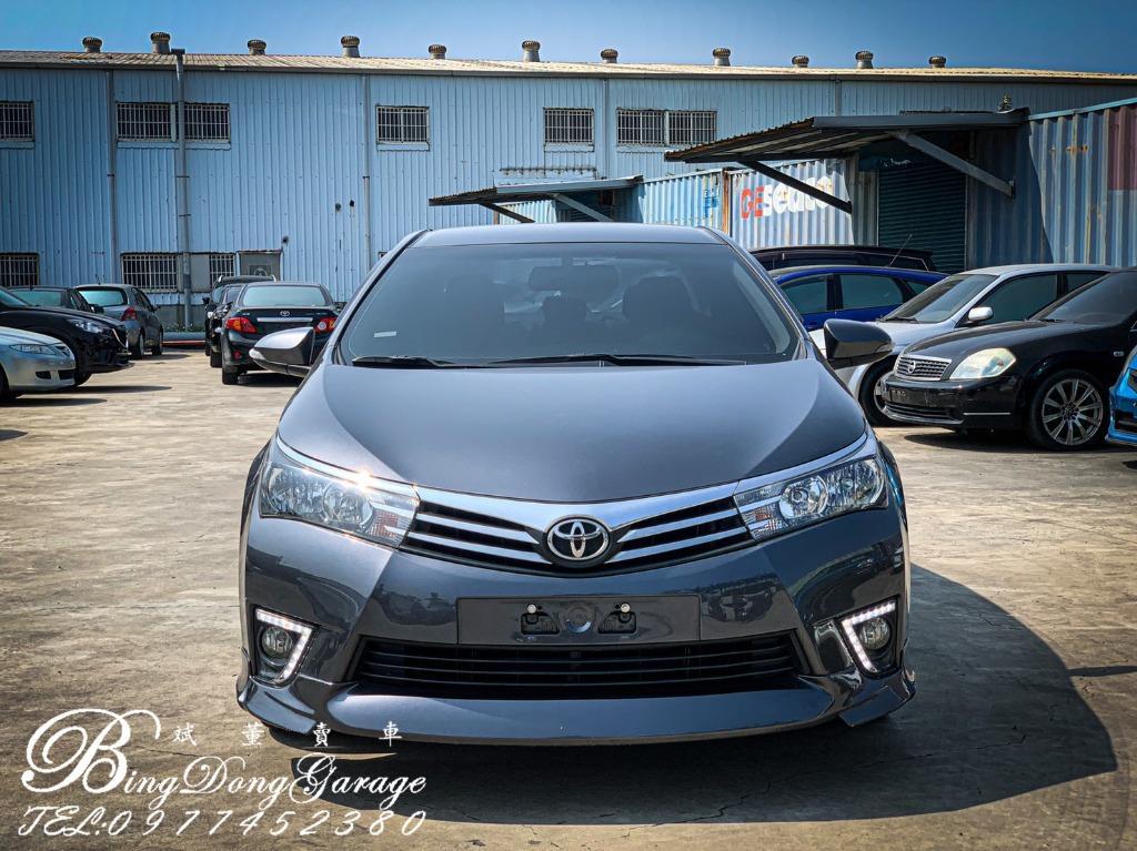 Toyota\2014 ALTIS 改4出排氣 Z包鋁圈 回家直接上路就好 喜歡可以約看車唷