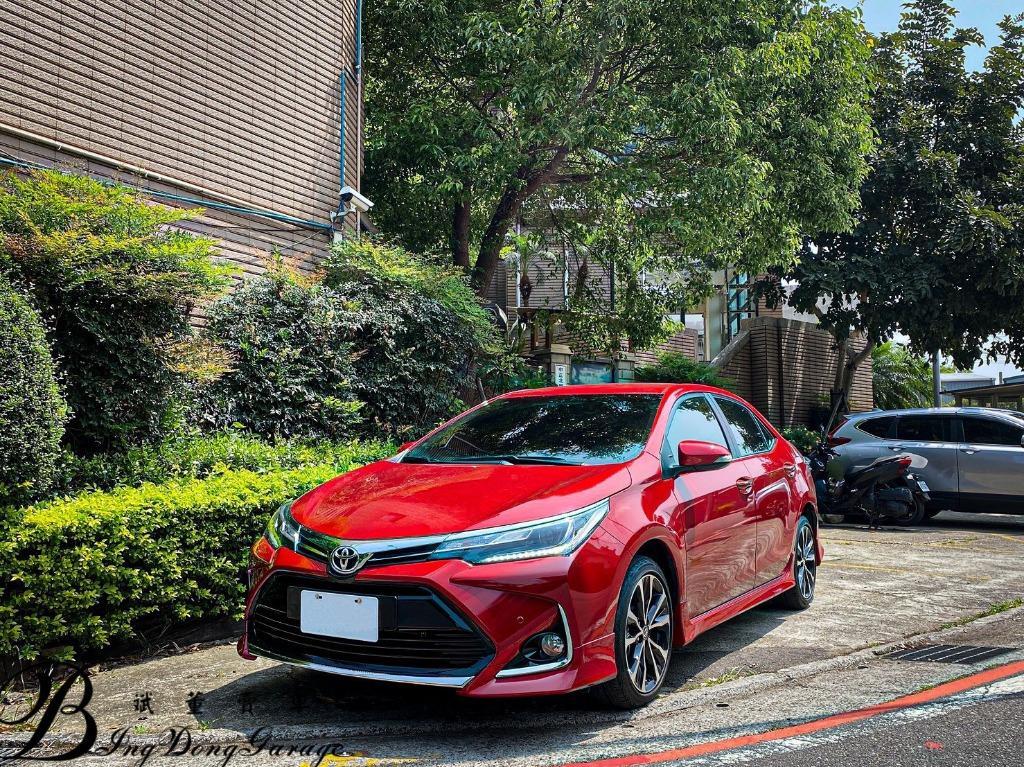 Toyota 2018 ALTIS 紅
