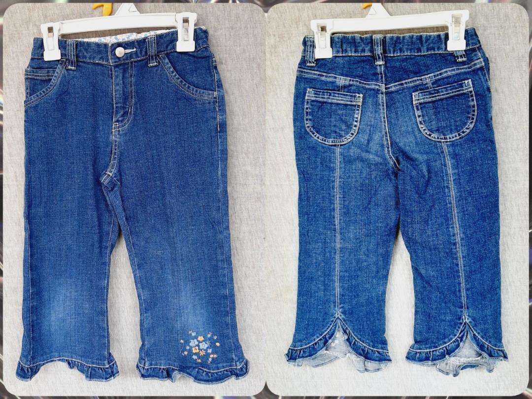 Uniqlo (130/7-8th) Celana Anak Perempuan Preloved Import