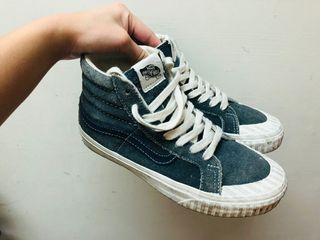 Vans高筒中筒麂皮帆布鞋滑板鞋