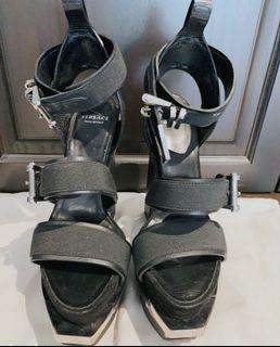 Versace heels size 6 authentic