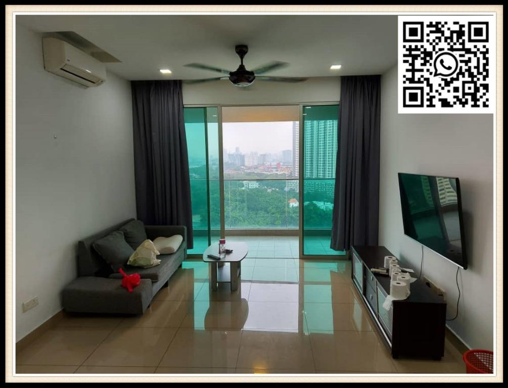 [RENT] Kiara Residence 2 Bukit Jalil Furnished Condo next LRT Awan Besar
