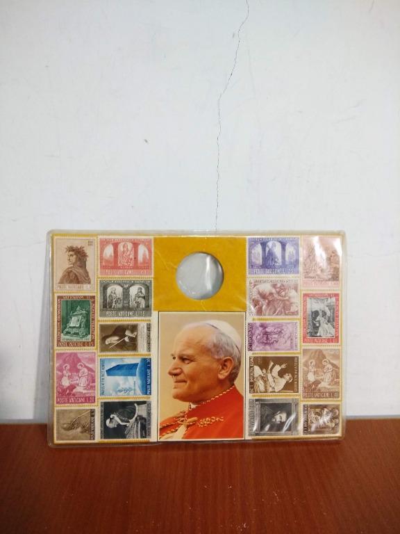 1960年代 Poste Vaticane 梵蒂岡 教宗 郵票
