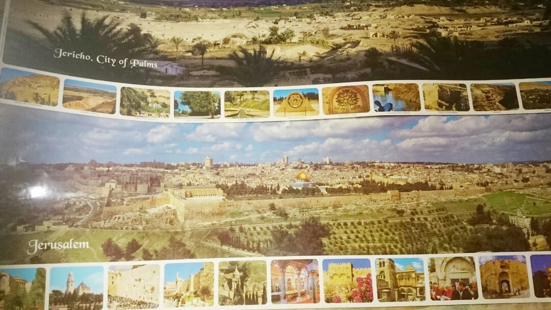 以色列*2入//耶利哥城 #環景圖 99*35cm