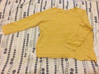 vlewy 橫間長 T shirt