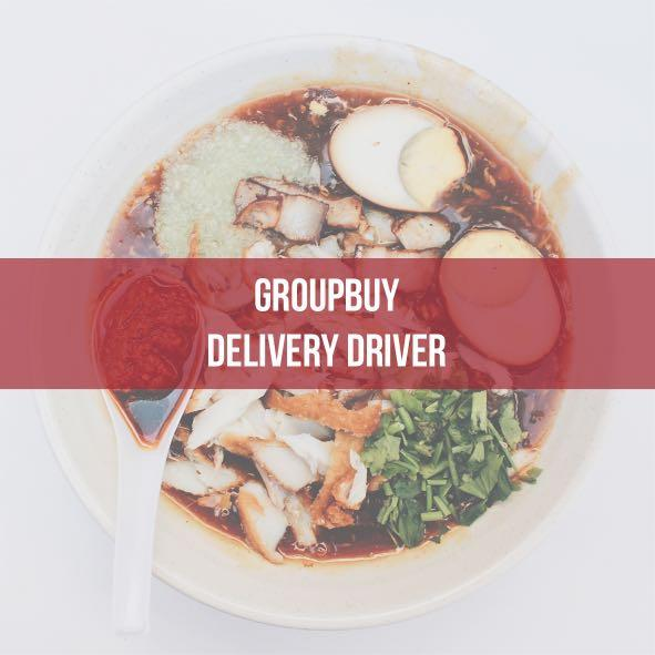 Adhoc Groupbuy Delivery Driver