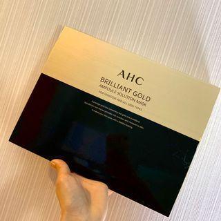AHC黃金蠶絲蛋白安瓶面膜