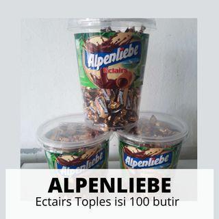 Alpenliebe Ectairs Toples 100 butir