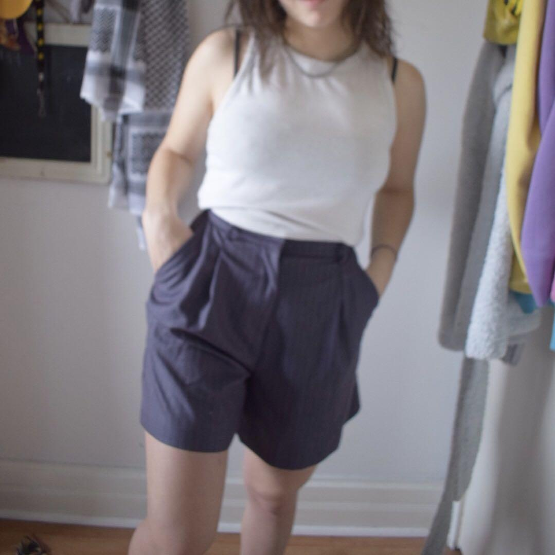 ASOS brand new (with tags) suit shorts. Petite size 4.