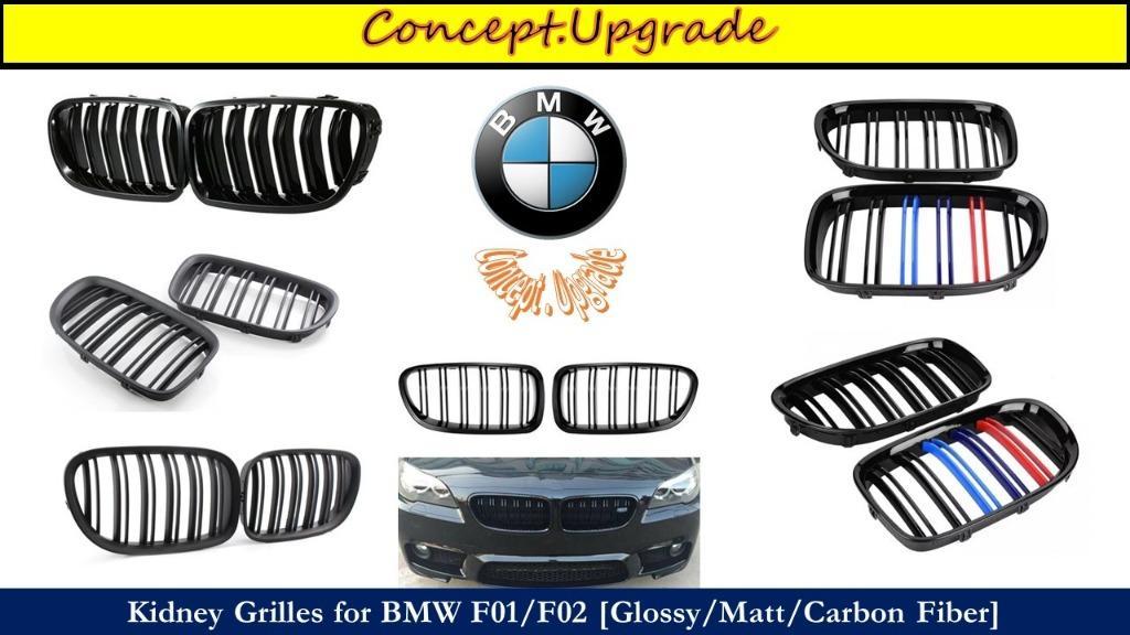 BMW ASSORTED DESIGNS FRONT KIDNEY GRILLES FOR ALL MODELS