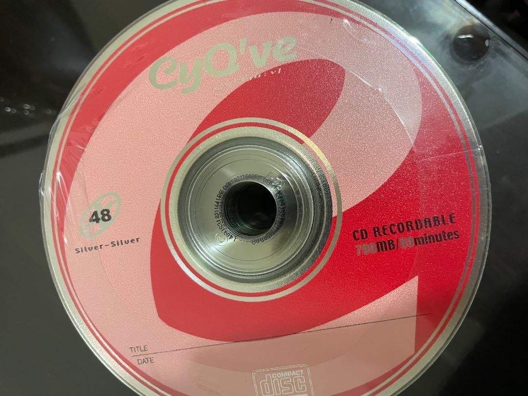 空白CD光碟片