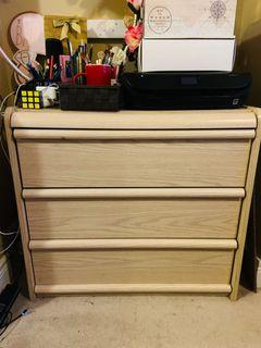 Chest - 3 drawers plus extended table