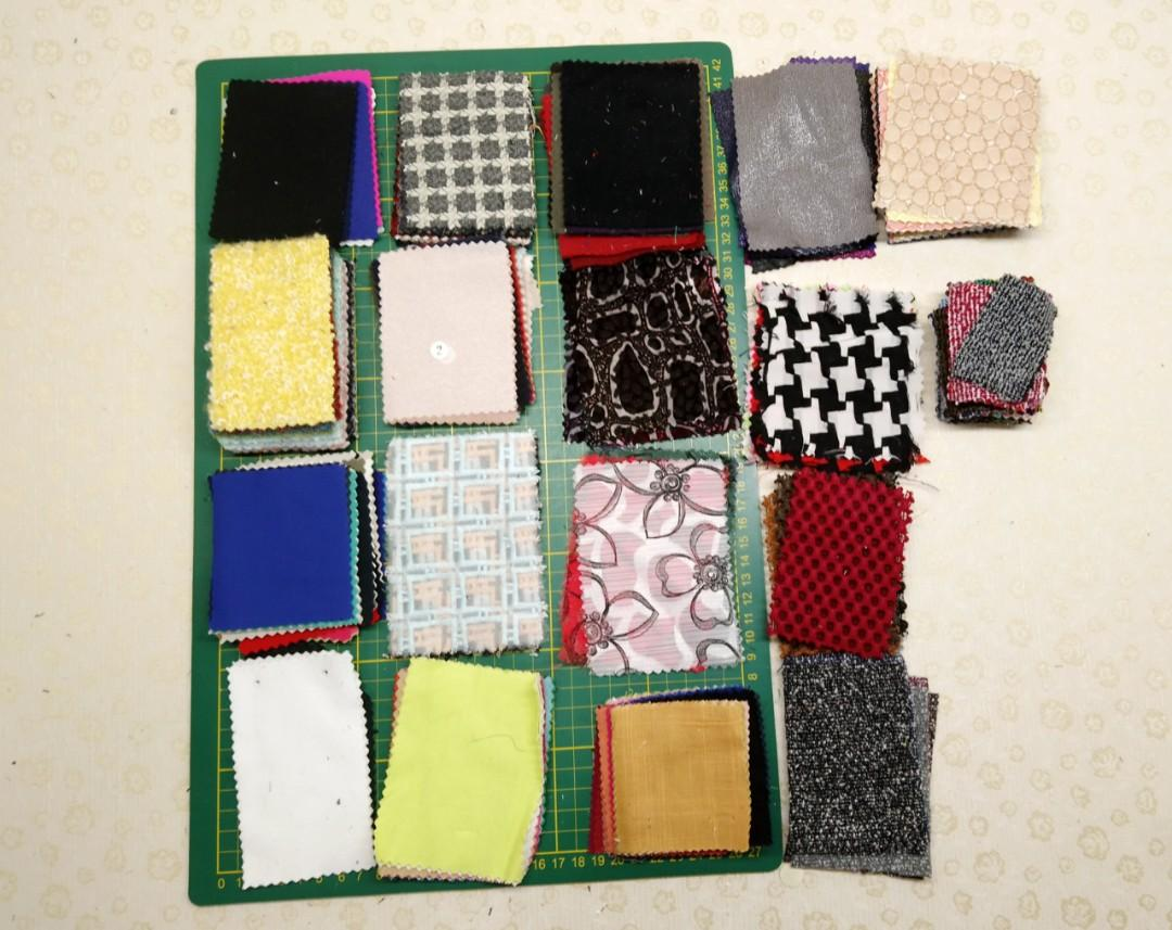 拼布小布塊(D包裝)/布料/服裝材料