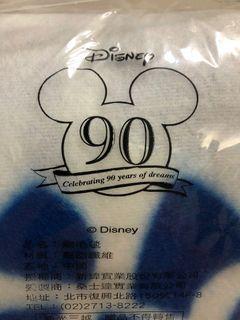 Disney 90週年 刷毛毯。全新。