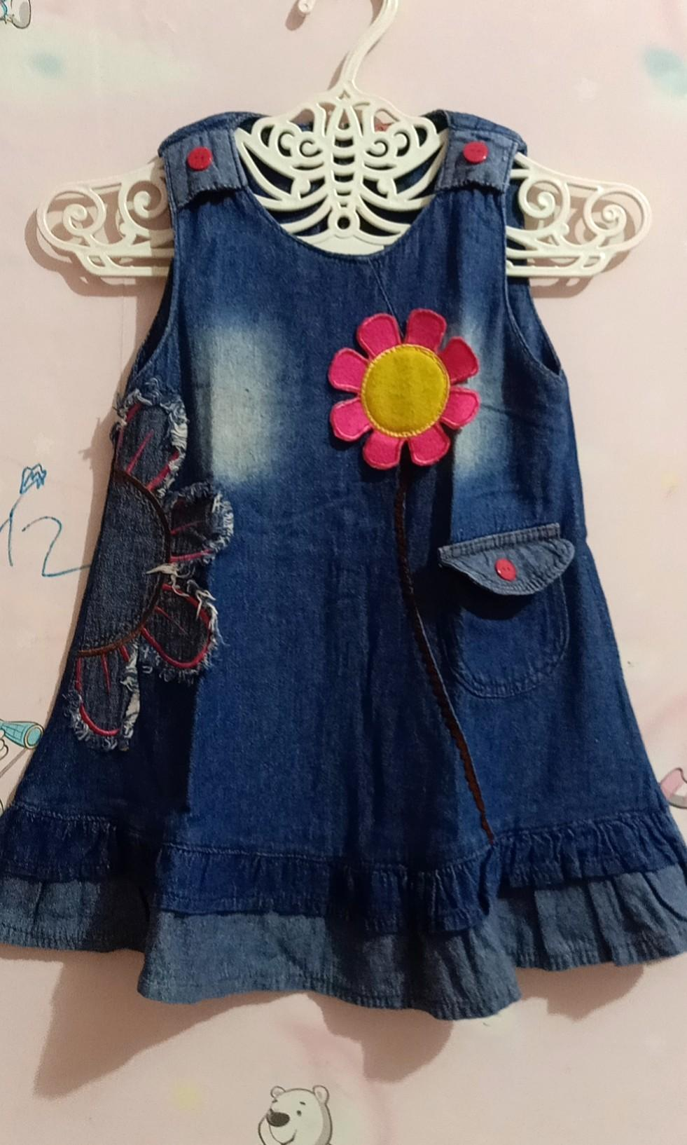 Dress anak jeans lucu