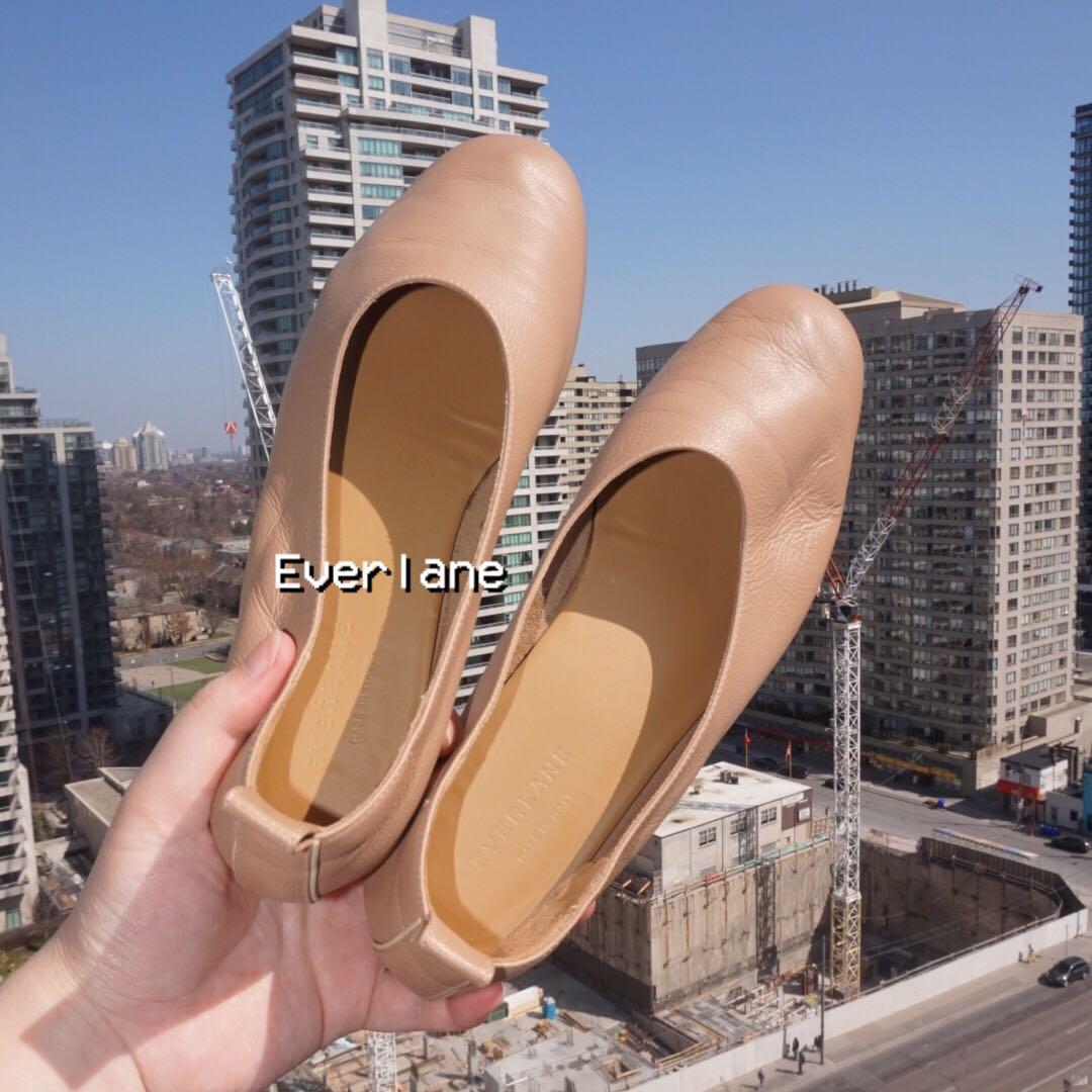 EUC🌿 Everlane Italian Leather Day Glove in Tan