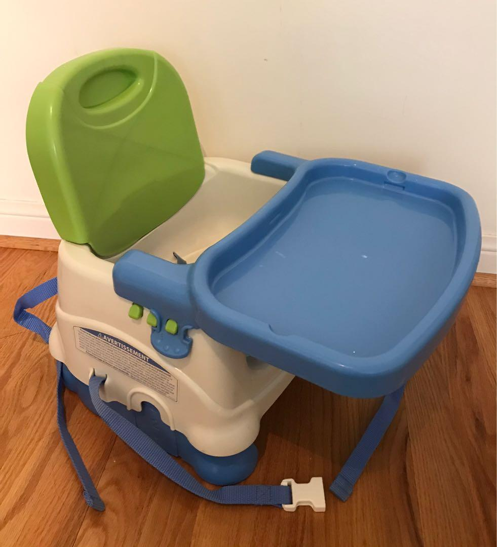 EUC Fisher Price portable high chair / booster seat