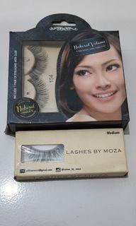 Eyelashes Moza and D'eyeko