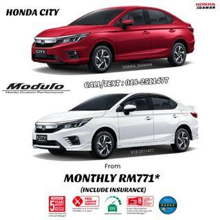 HONDA CITY MONTHLY FROM RM771*