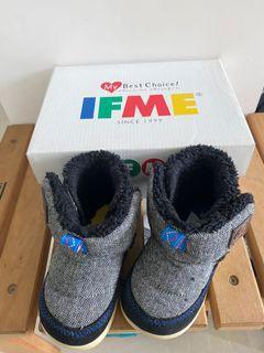 IFME 童鞋。高筒靴子🥾內刷毛。14公分。
