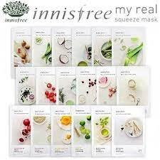 INNISFREE SHEET MASK MY REAL SQUEEZE MASK