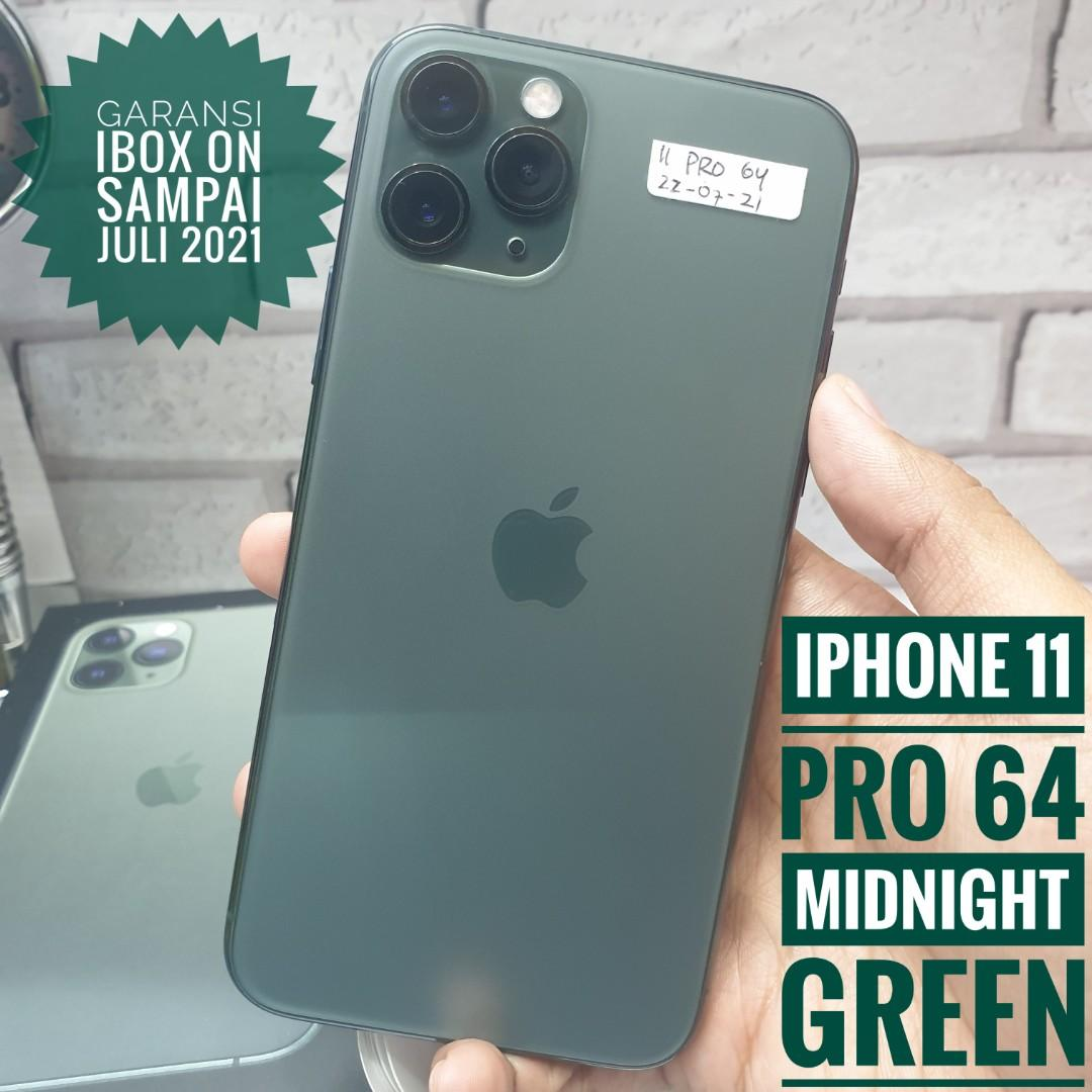 iPhone 11 Pro 64 Midnight Green, Ibox