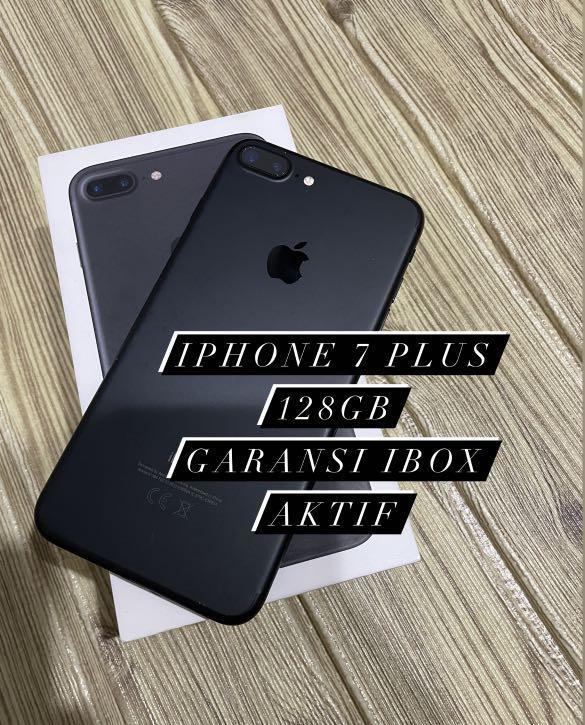 Iphone 7 plus 128gb IBOX OKE BANGET