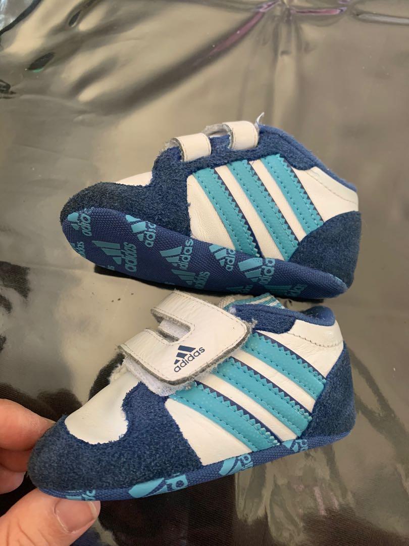 Like new infant boys Adidas shoes sz 2