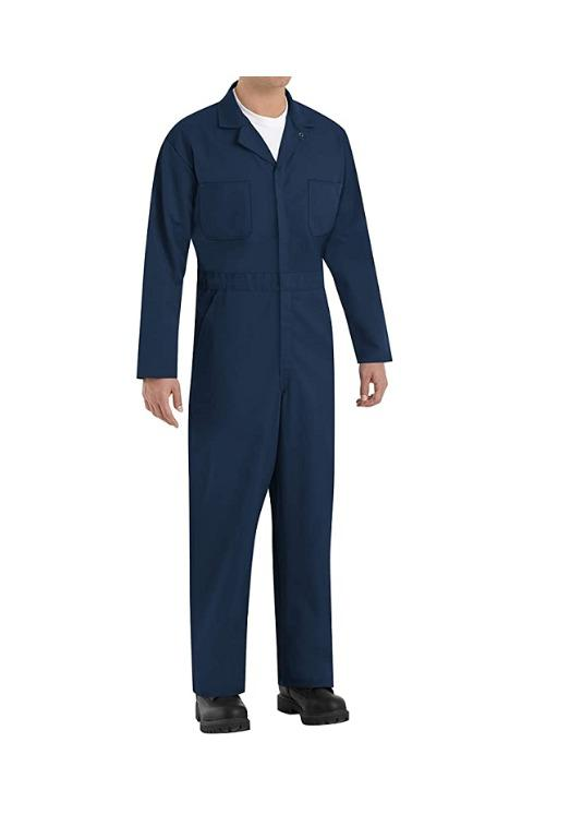Men's Red Kap Twill Action Back Coverall (Size 56)