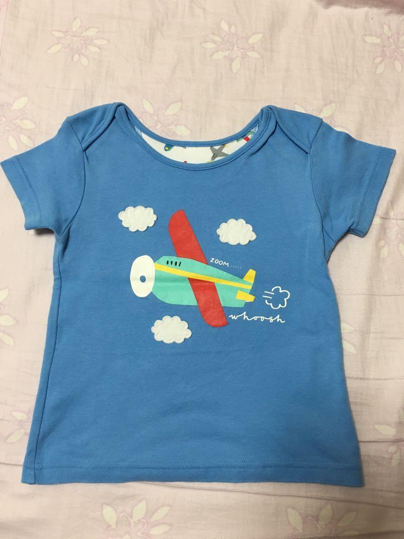 Mother care飛機上衣2-3歲男童上衣