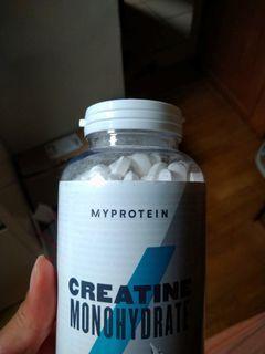 Myprotein 肌酸片creatine