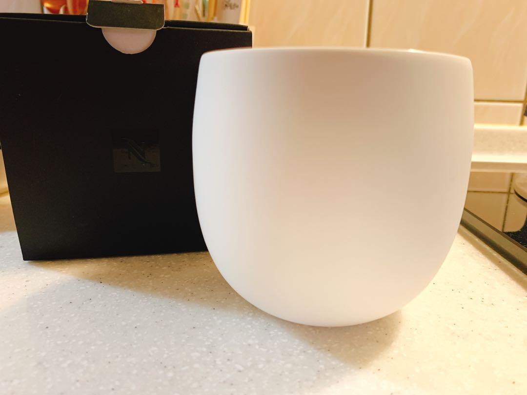 Nespresso 雙層陶瓷咖啡杯 全新未拆 官網正貨 390ml