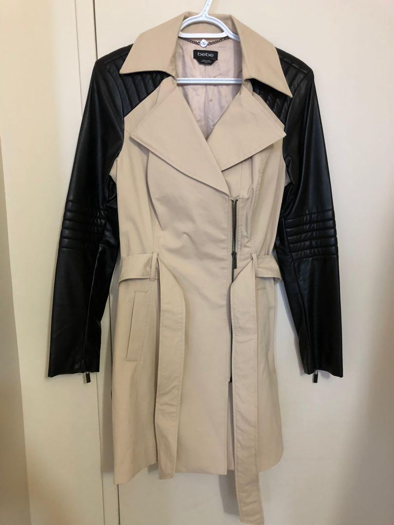 New Without Tag Bebe Trench Coat in M