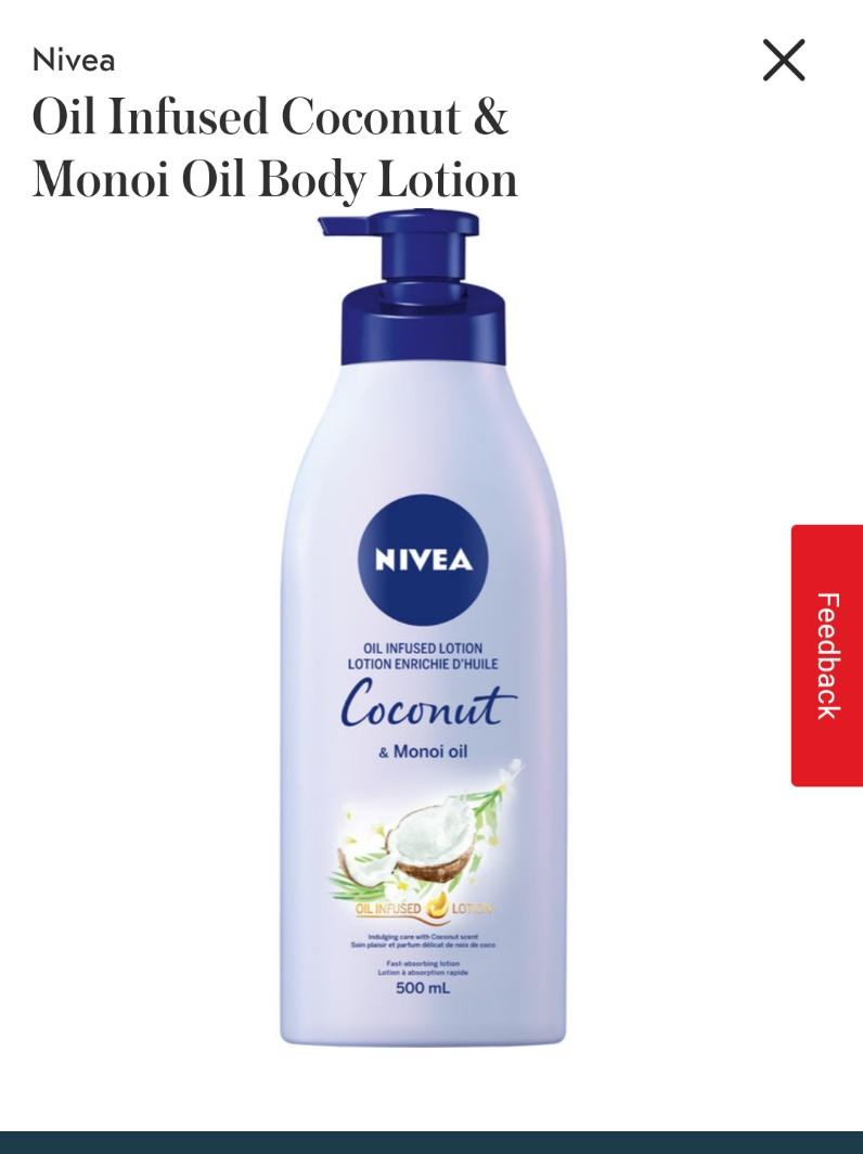 🌸Oil Infused Coconut & Monoi Oil Body Lotion
