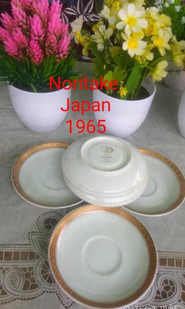 pisin Noritake japan 6pcs Lawas