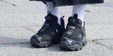 reebok 充氣鞋 限量配色