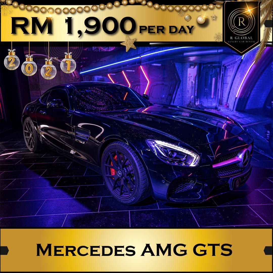 Rent a Mercedes AMG GTs in Kuala Lumpur