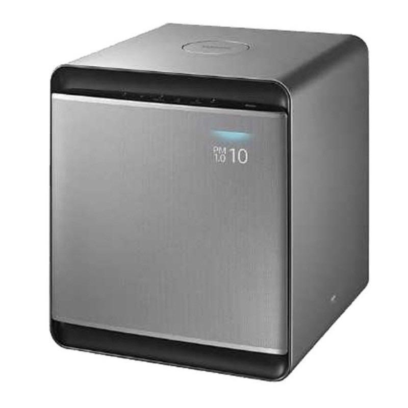 Samsung Cube™ Samsung 無風智慧清淨機 AX47T9080SS 無風智慧清淨機  光絲銀 全新公司貨