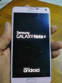Samsung galaxy note 4 untuk di jual 320