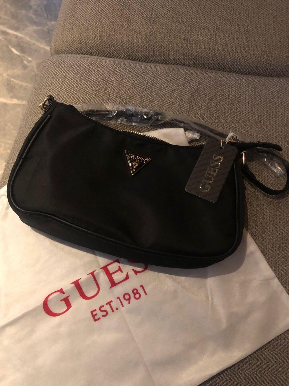 Shoulder Guess Bag Black Color Original Brand New