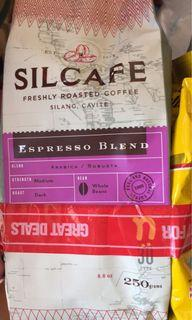 Silcafe freshly roasted coffee 250g  with free kremtop creamer 80g