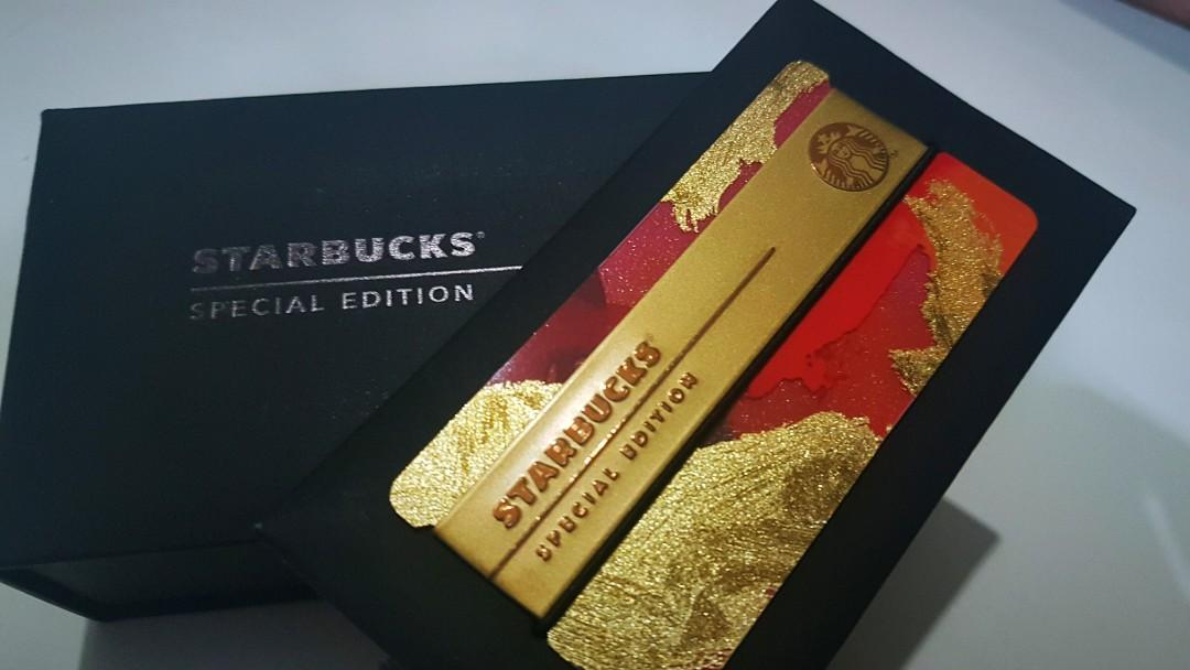 Starbucks Card Malaysia Limited Edition 2017