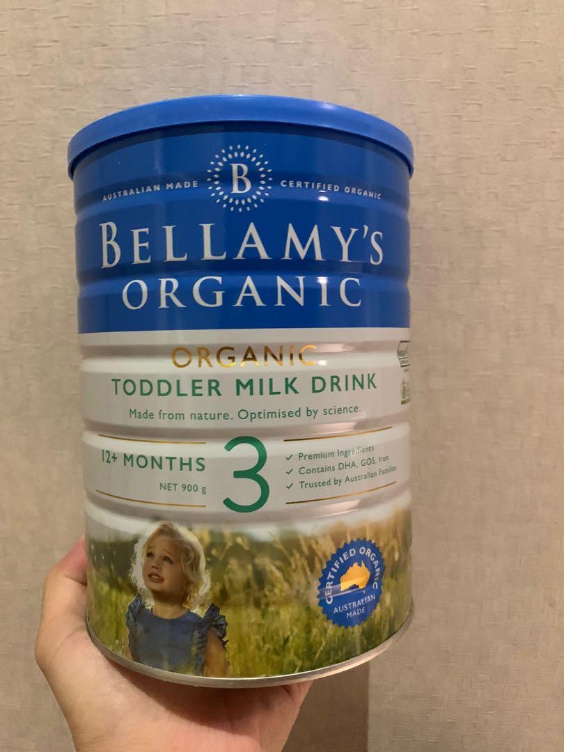 Susu bellamy's organic 1-3 tahun