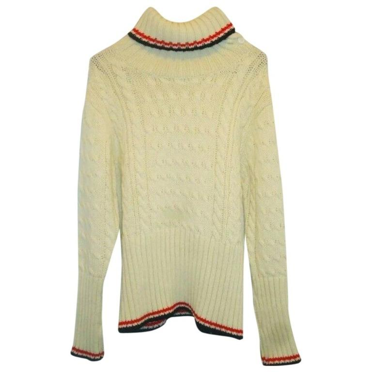 Thom Browne Cable Knit Wool Sweater, Size M Unisex new