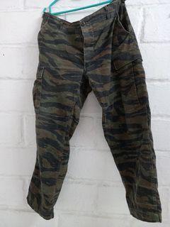 Tiger Stripe Camoflage Trouser Combat USA