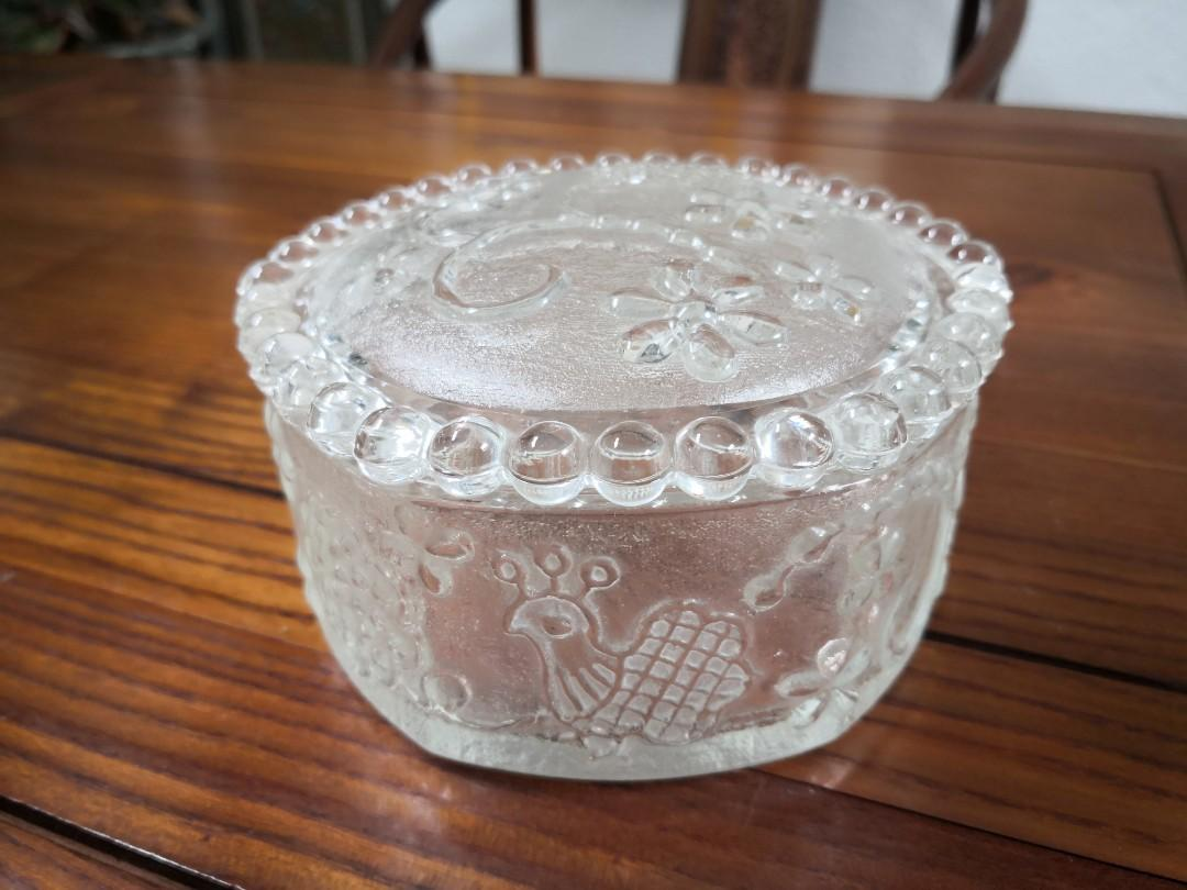 Vintage Glass Container.